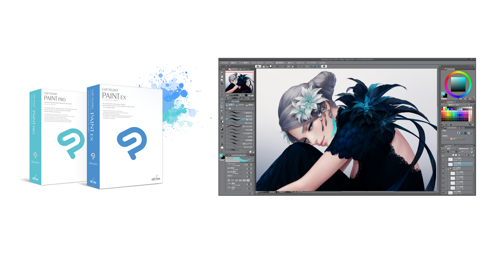Clip Studio Paint, the artist's software for drawing and painting,reaches 6 million creators worldwide!