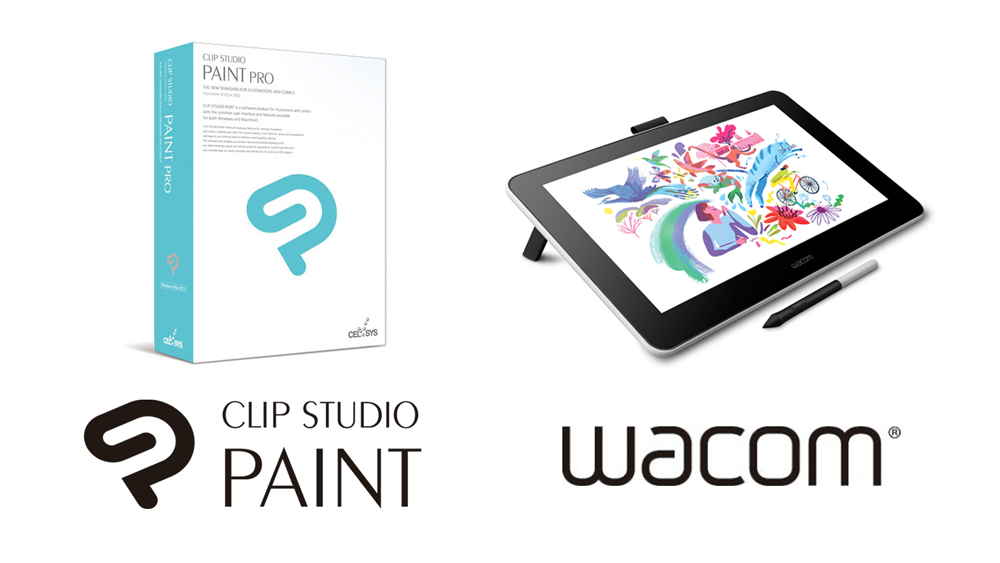 Clip Studio Paint to be Bundled with Wacom's Newest Cutting-edge Pen Display: Wacom One