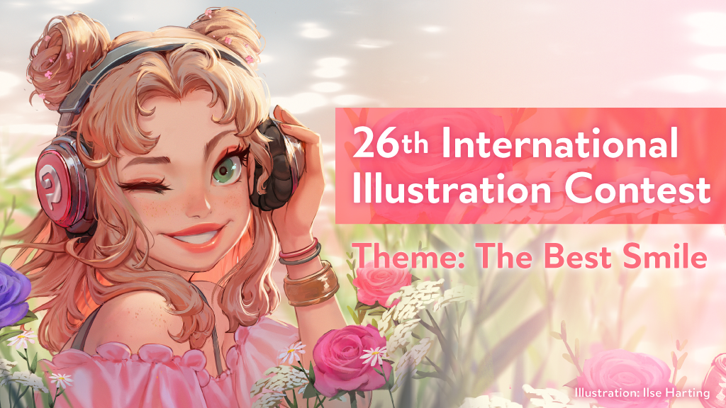 "Draw ""The Best Smile"" and post it on social media! Celsys opens its 26th International Illustration Contest"