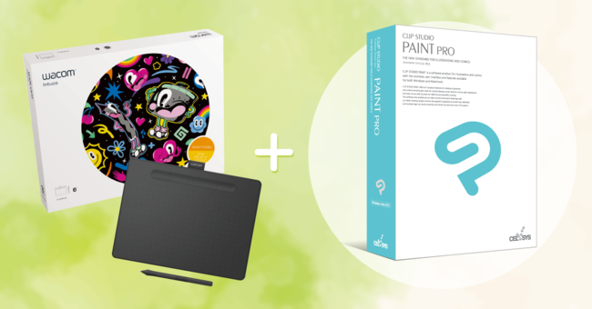 intuos comic with clip studio paint pro download